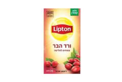 תה צמחים ליפטון-חליטת ורד הבר
