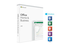 Microsoft Office 2019 Home & Business  - רשיון ללא מדיה בעברית