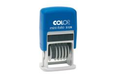 חותמת מספרון 6 ספרות - COLOP Printer S126