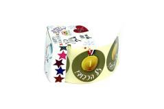 גליל 200 מדבקות ``כל הכבוד`` עם מדליה זהב