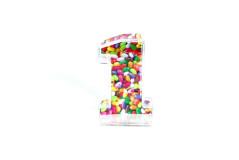 קופסת סוכריות פלסטיק מספר 1