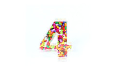 קופסת סוכריות פלסטיק מספר 4