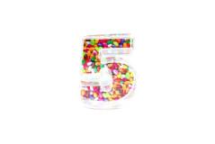 קופסת סוכריות פלסטיק מספר 5