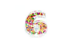 קופסת סוכריות פלסטיק מספר 6