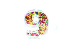 קופסת סוכריות פלסטיק מספר 9