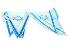 שרשרת דגל ישראל משולשים 3 מטר