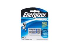 זוג סוללות ליתיום AAA דגם Energizer