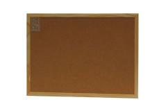 לוח שעם 20x30 מסגרת עץ