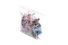 100 שקיות צלופן 10X15 ס``מ + פס דבק לסגירה