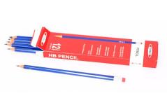 עפרון עם מחק  12 יחידות - TODAY`S HEX