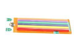 סט 6 נרות צבעוניים לאקדח דבק חם