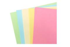 בריסטול צילום A4  צבעים פסטלים חמישה צבעים 1/50