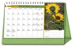 לוח שנה שולחני יומי 21*15 2019-2020 - פרחים