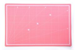 משטח חיתוך דו צדדי ורוד -  30X45  ס``מ