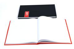 מחברת כריכה קשה סקיצה דגם-A4 100  דף חלקה 80 גרם