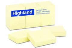 מזכריות ממו צהוב 100 דף 38X51 מ``מ 6539 היילנד