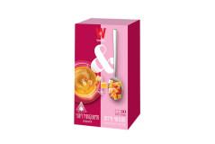 חליטת קמומיל לימוני + נשנושי פירות ויסוצקי