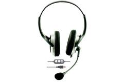 אוזניות עם מיקרופון בחיבור USB - HYG-800/850