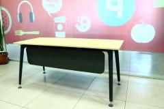 שולחן משרדי כולל הרחבה רוחב 180 ס``מ  LEGOLD