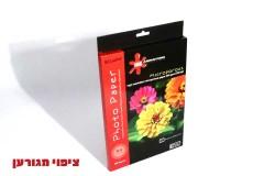 נייר מיקרופורוס 5760DPI-ציפוי לוסטר-מגורען 50דף גודל A4