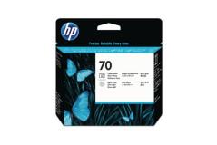 ראש הדפסה מקורי שחור פוטו+אפור (70)-HP C9407A