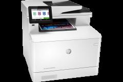 מדפסת לייזר HP Color LaserJet Pro MFP M479fdn
