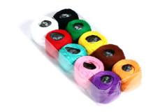 מארז חוטי רקמה 10 צבעים