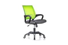 כסא משרדי  גב רשת  קומפורט - כתום