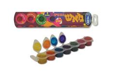 סט 7 צבעי גואש נוצצים - אומגה