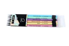 סט 8 יחידות עט ג`ל נוצצים COBRA