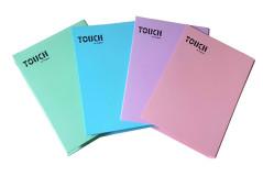 קלסר פוליו קרטון צבעוני בצבעי פסטל 336701