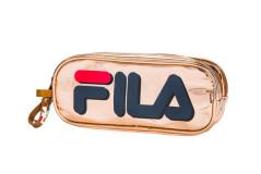 קלמר 2 תאים FILA - זהב 274504