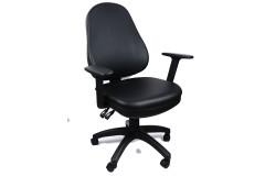 כסא משרדי מירון -ידיות מתכווננות דמוי עור