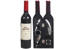 סט 5 אביזרי יין בתוך בקבוק