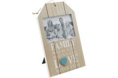 מסגרת עץ לתמונה בודדת FAMILY