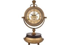 שעון גלגלי שיניים שולחני בעיצוב עתיק