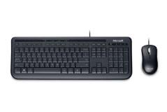 סט עכבר ומקלדת Microsoft Wired Desktop 600