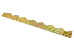חיתוכי פסי קסם - הולגרמי זהב