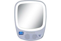 רמקול Bluetooth משולב מראה לחדר האמבטיה