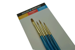סט 4 מכחולים דאלר ראוני שיער טבעי 21610401