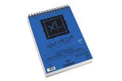 כנסון בלוק XL A4 ספירלה מיקס מדיה 30 דפים 300 גרם