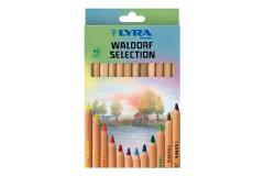 LYRA סט 12 עפרונות אנתרופוסופיים וולדורף