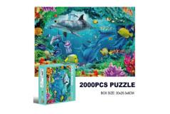 פאזל 2000 חלקים - ים OCEAN WORLD