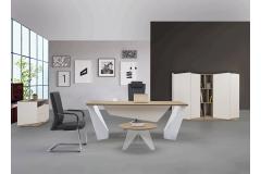 שולחן מנהל/ת VIVA אורך 2מטר  SAFIRMESE / METALIK INCI