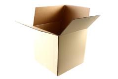 קופסת קרטון ק.ד21 קרטון מצומד כפול 49X49X49 ס``מ