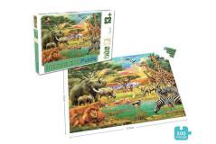 פאזל 500 חלקים - חיות אפריקאיות
