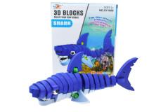 פאזל תלת מימד כריש 47 חלקים