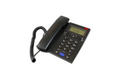 טלפון משרדי יונדאי דקורטיבי שחור HDT-2600B