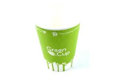 כוסות מקרטון ידידותי  GREENלסביבה 250 מ``ל  8OZ