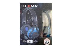 אוזניות חוטיות LEXMA HB-640U USB